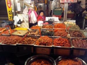 Inside Gwangjang Market
