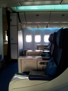 Malaysia Airline Business Class