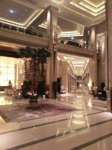 Fallen in love with this grand lobby