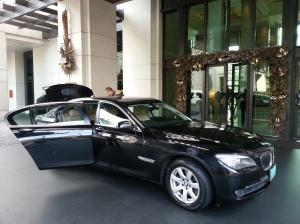 Siam Kempinski Hotel's BMW 7 Series Limousine