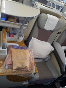 Emirates A380 Business Class