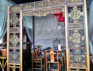 Hutong's decor