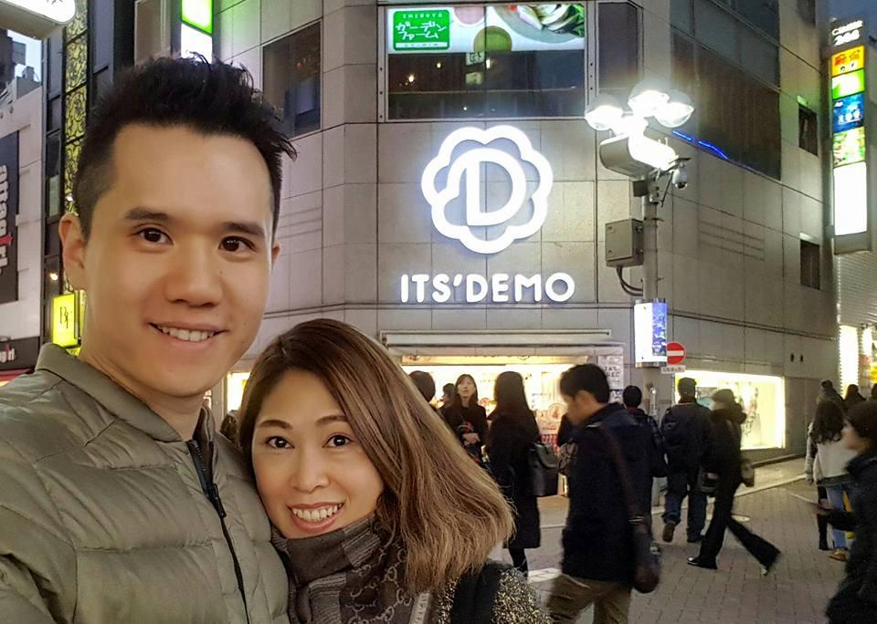Timothy Lee in Tokyo
