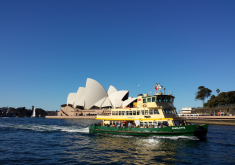 Sydney Ferries and the Opera House