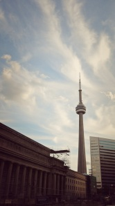553m tall CN Tower