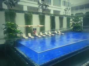 Swimming pool at Movenpick Heritage Hotel
