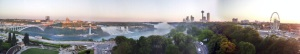 Sunset at Niagara Falls