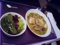 VA Business Class Food