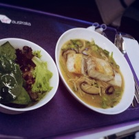 VA Business Class Food