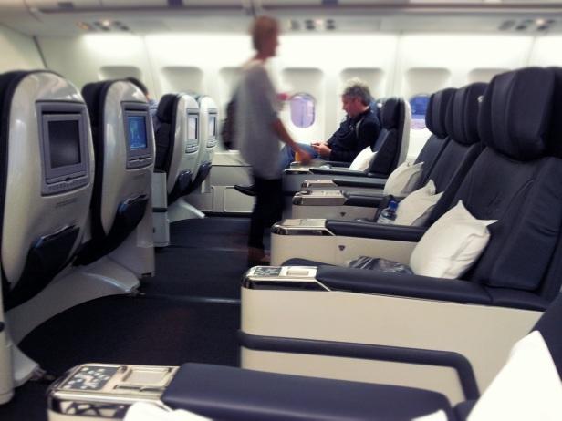 Virgin Australia A330 business class