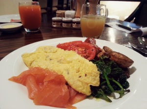 Breakfast at Hyatt Regency Perth