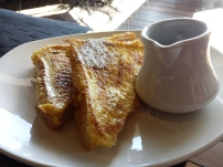 Made-to-order french toast @Nuevo37