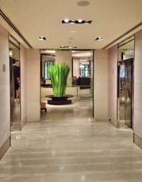 Lift lobby at Grand Hyatt Melbourne
