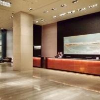 Upper lobby at Grand Hyatt Melbourne