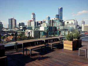 Outdoor Terrace Executive Lounge