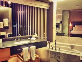 Marble bathroom @ Hilton Kuala Lumpur