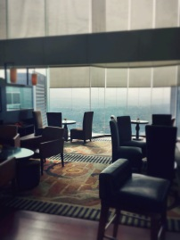Intimate setting at the Executive Lounge