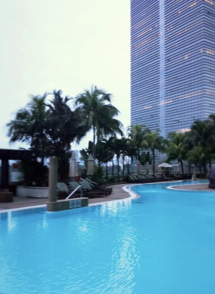 Outdoor Pool @ Hilton Kuala Lumpur