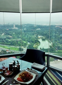 Executive Lounge @ Hilton Kuala Lumpur