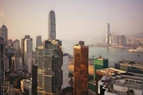 Conrad HK_Exec Lounge views