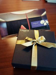 Welcome gift from Conrad Tokyo