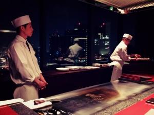 Teppanyaki @ Kazahana, Conrad Tokyo