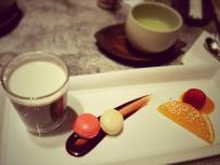 Dessert @Kazahana, Conrad Tokyo