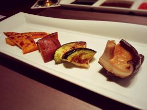 Sautéed vegetable @Kazahana, Conrad Tokyo