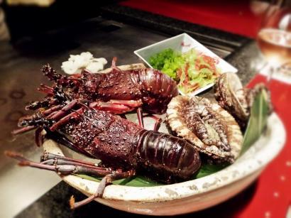 Seafood course @Kazahana, Conrad Tokyo