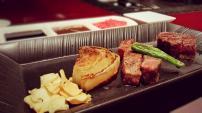 Teppan Kobe beef @Kazahan, Conrad Tokyo