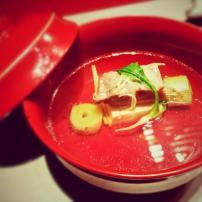 Clear Soup 御椀@Kazahana, Conrad Tokyo