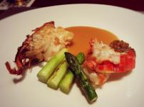 Teppan lobster @Kazahana, Conrad Tokyo