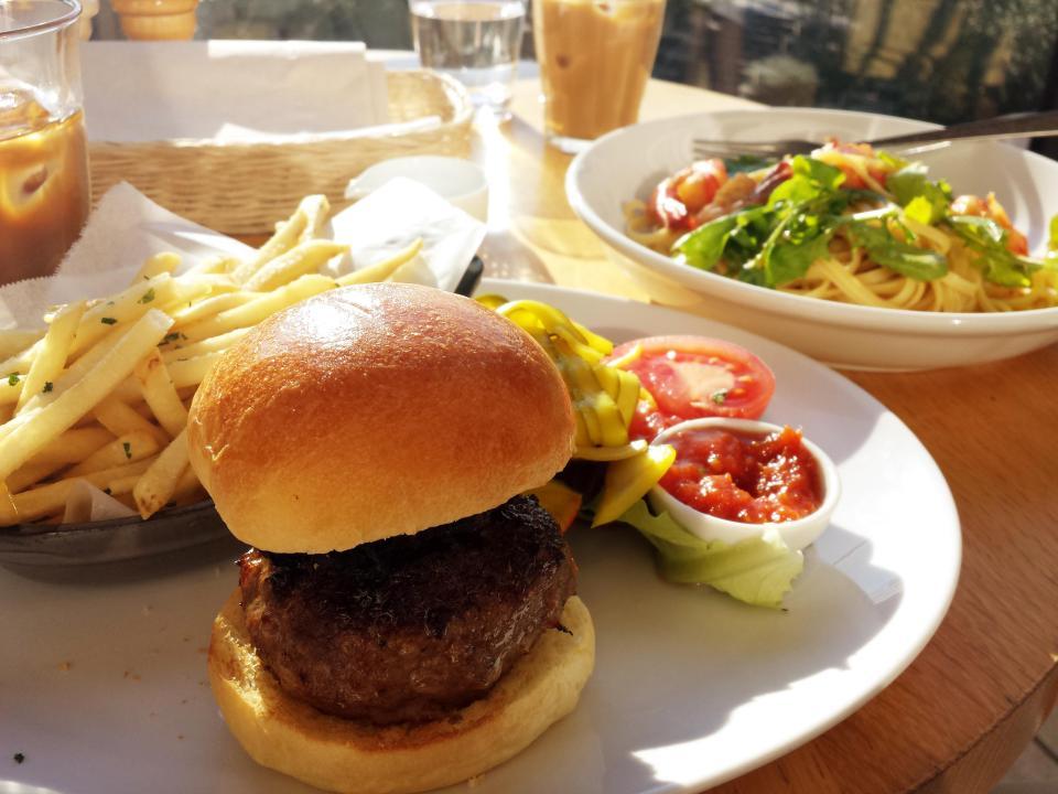 Very tasty burger by Bills, Tokyo