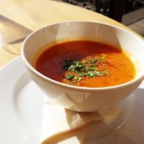 Tomato soup at Bills, Tokyo