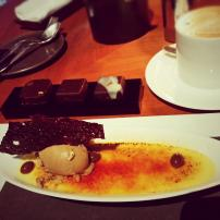 Dessert from Bvlgari Cafe