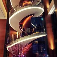 Conrad Seoul_Stunning 36.5m spiral staircase