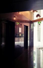 New lift lobby