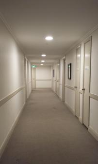 Hallway at Harmony Apartments