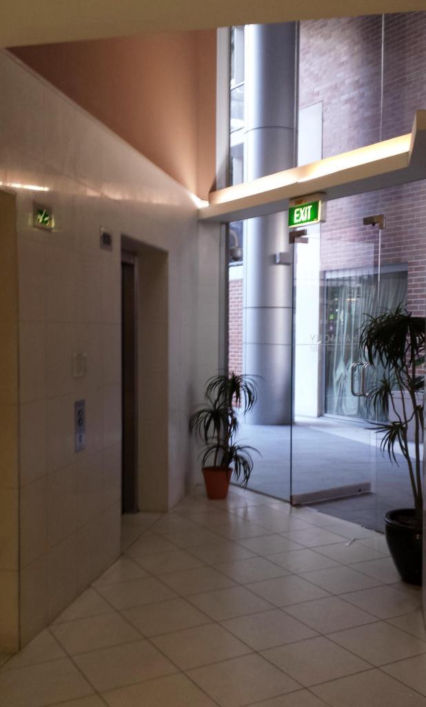Lift lobby at Harmony Apartments