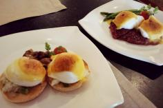 """Oscar"" Eggs Benedict at The Oriental Club Singapore"