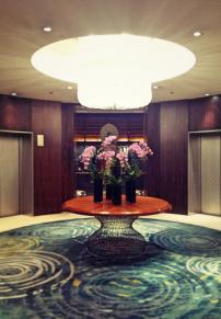 Elegant floral arrangements at MO Singapore