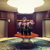 Elegant floral arrangements at MO Singapore
