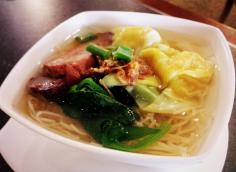 Singapore Wanton Noodle Soup at The Oriental Club Singapore