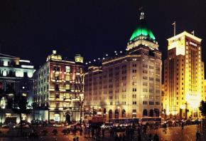 The Fairmont Peace Hotel on Nanjing Road East