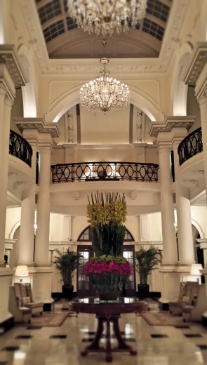 Waldorf Astoria Club Lobby