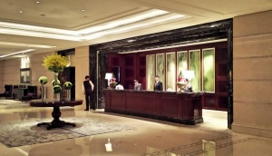 Check-in at Waldorf Astoria Tower