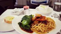 Malaysia Airlines Main Meal