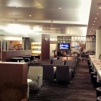 Qantas Business Class Lounge at Sydney International Airport