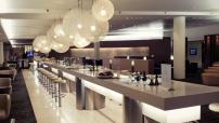 Qantas Business Class Lounge at Sydney International Airport