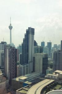 View from Westin Suite, Westin Kuala Lumpur